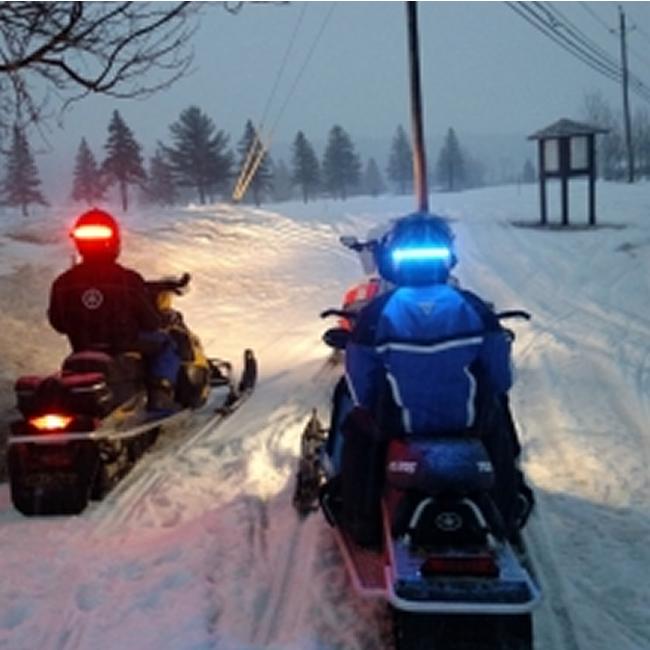 Snowmobile Helmet Led Lights Very Cool Sledding